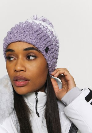 BERRY - Beanie - white/purple