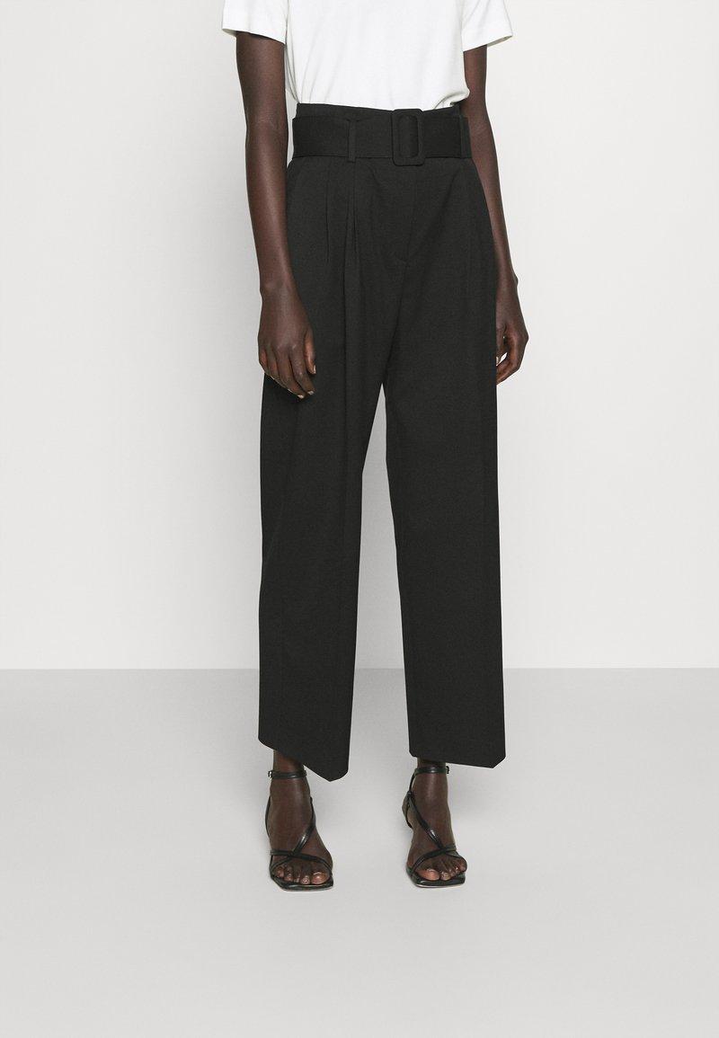 HUGO - HUGESA - Kalhoty - black