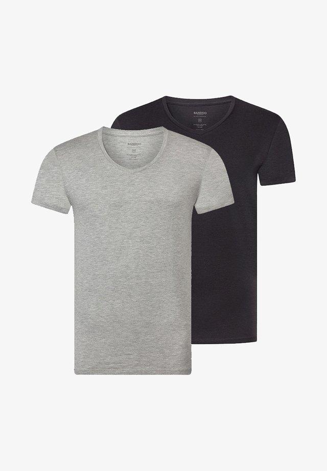 2PACK  - Hemd - grey, dark grey