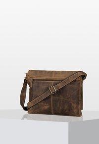 Greenburry - VINTAGE  - Across body bag - brown - 1
