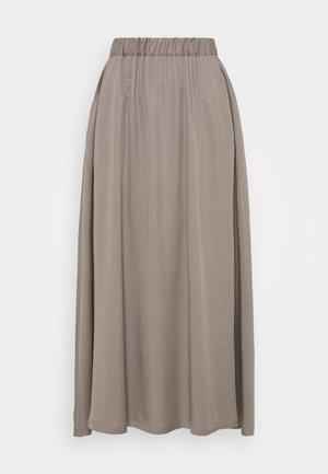 BOX - Áčková sukně - taupe