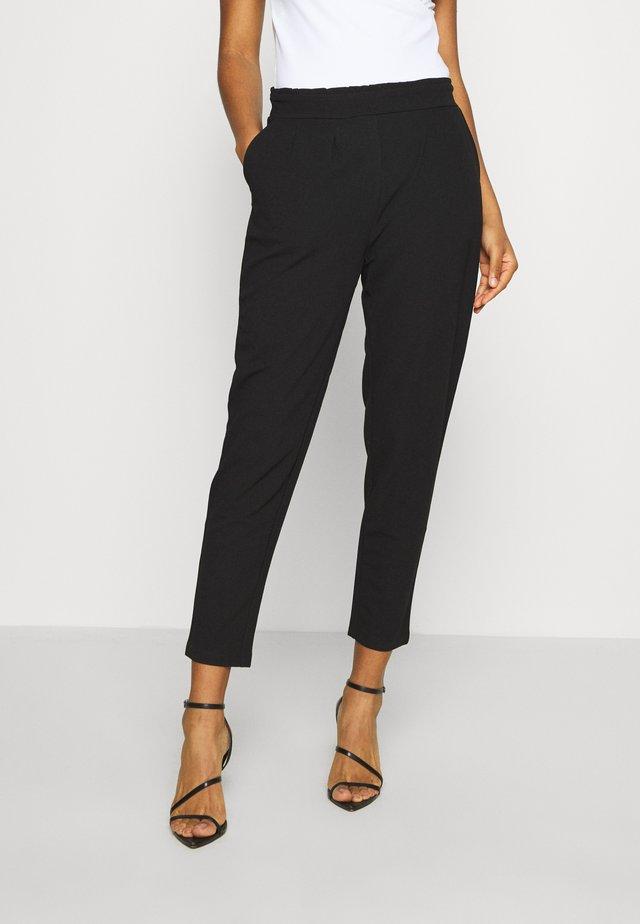 Casual Trousers - Pantaloni - black