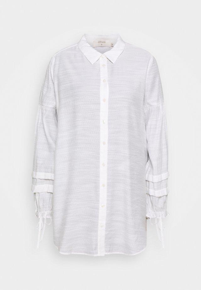 AVIE - Button-down blouse - snow white