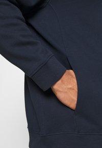 TOM TAILOR MEN PLUS - COSY BASIC JACKET - Zip-up hoodie - dark blue - 5