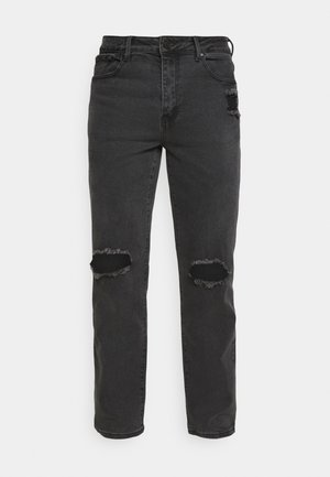 ON THE RUN  - Jean boyfriend - black