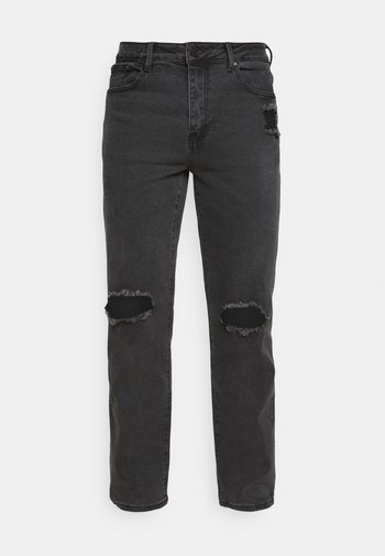 ON THE RUN  - Relaxed fit jeans - black