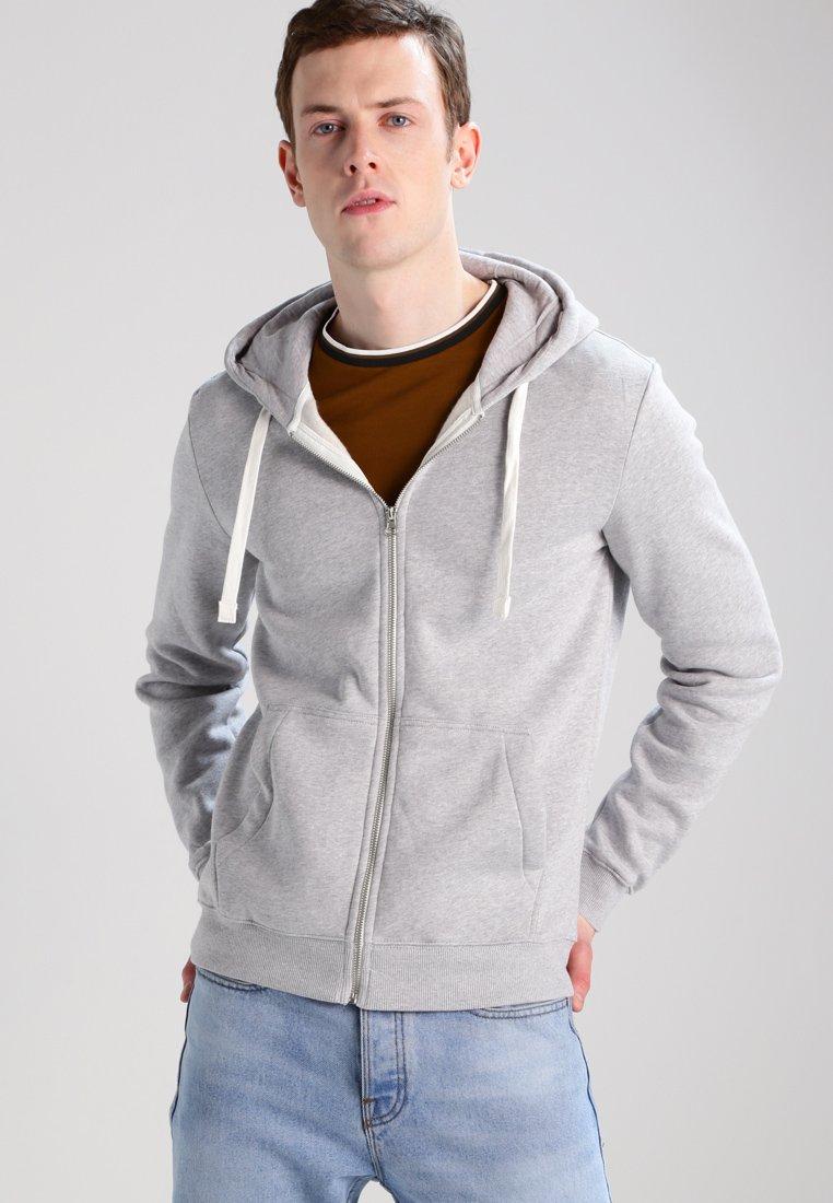 YOURTURN - Zip-up hoodie - light grey melange
