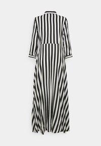 YAS - YASSAVANNA LONG DRESS - Maksimekko - black/ white stripes - 7