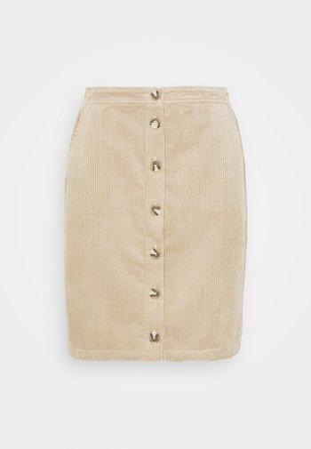 CHARIS JEPPI SKIRT - Pencil skirt - white pepper
