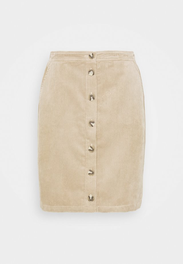 CHARIS JEPPI SKIRT - Blyantnederdel / pencil skirts - white pepper