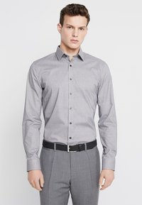 OLYMP - OLYMP NO.6 SUPER SLIM FIT - Koszula biznesowa - black - 0