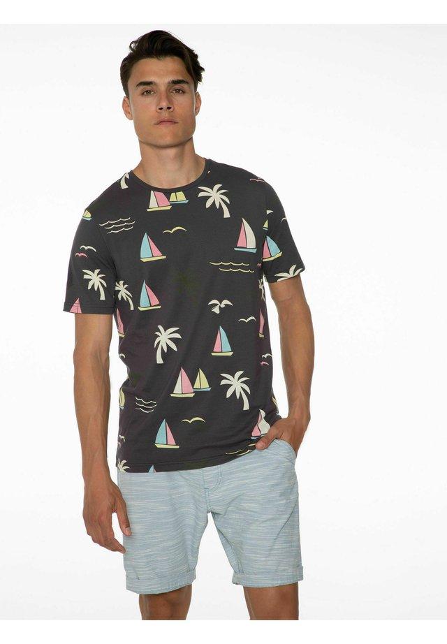 T-shirt print - deep grey