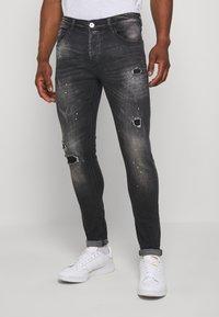 Kings Will Dream - LIMER CARROT - Slim fit jeans - grey/black - 0