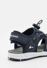 Viking - THRILL UNISEX - Walking sandals - royal/orange - 5