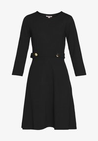 Anna Field - PUNTO FIT & FLARE - Robe en jersey - black - 4