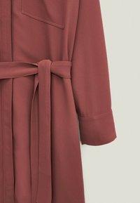 Massimo Dutti - Shirt dress - bordeaux - 3