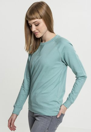 LADIES TERRY RAGLAN CREW - Sweatshirt - bluemint
