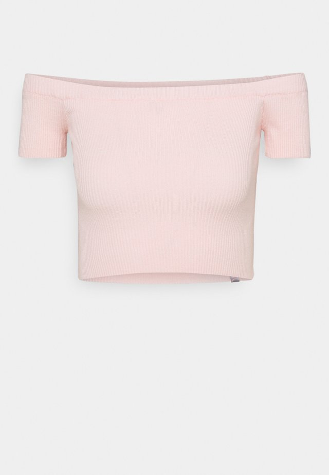 CROPPED - Top - pink