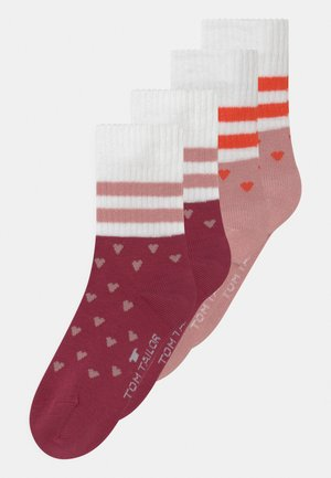 SPORT GIRLS WITH HEARTS 4 PACK - Socks - multi-coloured