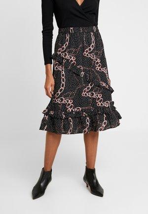 LATHISIA SKIRT - A-snit nederdel/ A-formede nederdele - black