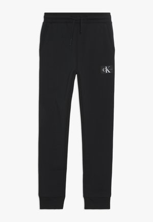 MONOGRAM SWEATPANTS - Joggebukse - black