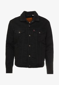 Levi's® - TYPE 3 SHERPA TRUCKER - Denim jacket - back denim