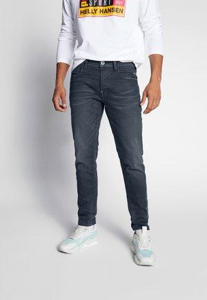 G-BLEID SLIM - Slim fit jeans - teal stretch denim - worn in teal