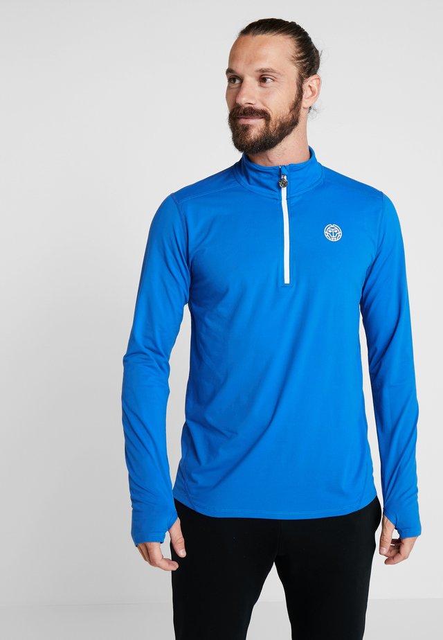 ZAC TECH - Pitkähihainen paita - blue/white