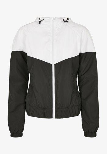 Arrow  - Summer jacket - white/black