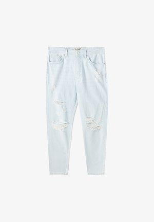 JEANS IM RELAXED-FIT - Slim fit jeans - light-blue denim