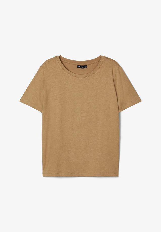T-shirt basique - travertine