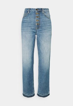 MADDIE MOM - Straight leg jeans - blue denim