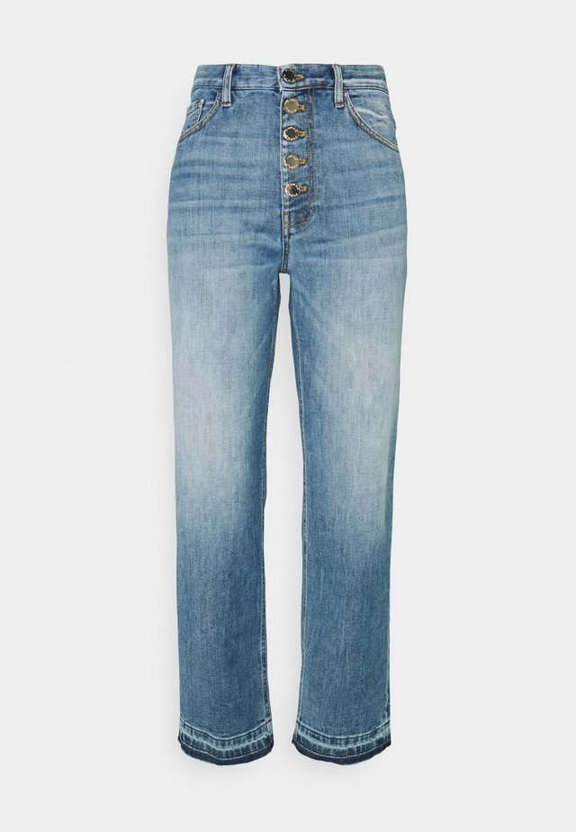 MADDIE MOM - Jeans Straight Leg - blue denim