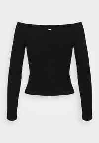 Guess - SONAY - Long sleeved top - jet black - 7