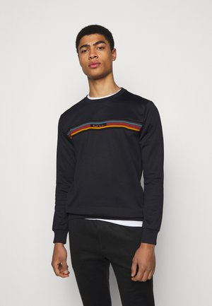 GENTS TRACK TOP - Sweatshirt - black