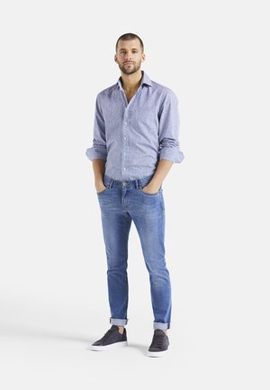 RIVARA-CF - Shirt - weiß blau
