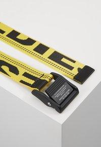 Diesel - MASER BELT - Belt - lemon - 2