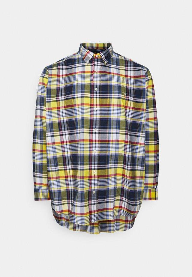 Shirt - yellow/blue multi
