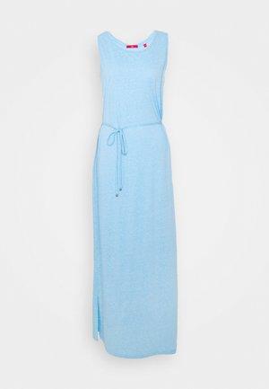 Maxi dress - blue melange optic