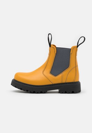 Classic ankle boots - yellow