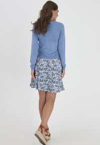 Fransa - ZUVIC  - Cardigan - brunnera blue melange - 2