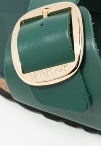 Birkenstock - MADRID BIG BUCKLE - Slippers - dark green - 2