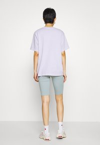 Weekday - MAURICE BIKER - Shorts - turqoise dusty light - 2