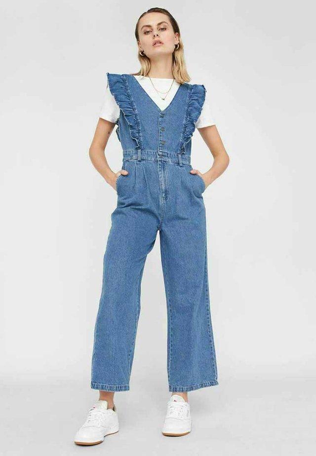 NMELLY - Jumpsuit - medium blue denim