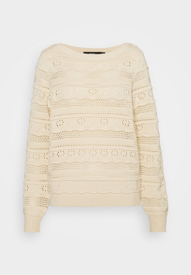 VMTHREED BOATNECK - Jumper - birch