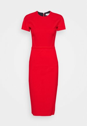 Robe fourreau - red