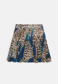Guess - KARIDA SKIRT - Mini skirt - beige - 1