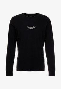 Abercrombie & Fitch - LOGO - Pitkähihainen paita - black - 3