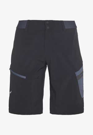 PEDROC CARGO SHORTS - Kraťasy - black out