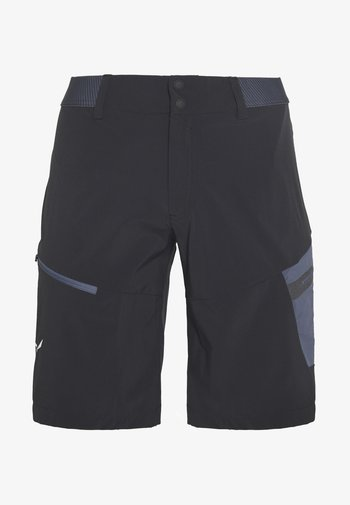 PEDROC CARGO SHORTS - Shorts - black out